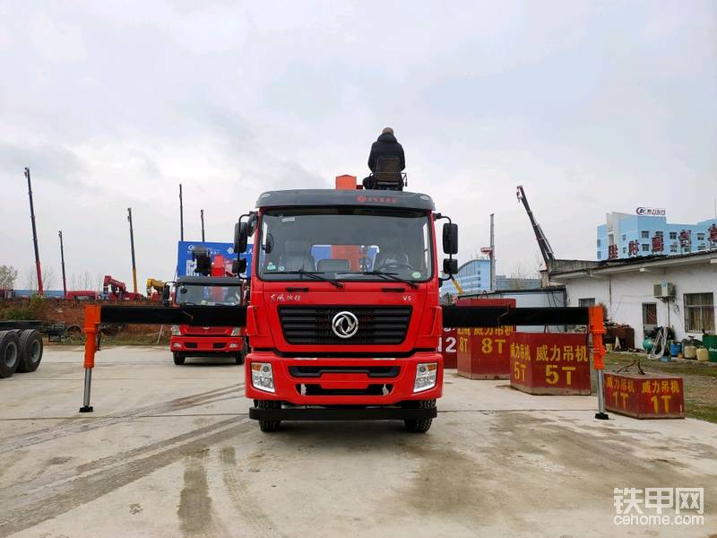 東風錦程前四后八石煤14噸隨車吊-帖子圖片