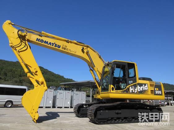【票友說車番外篇】小松混合動力挖掘機HB205解剖-帖子圖片