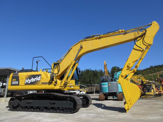 【票友说车番外篇】小松混合动力挖掘机HB205解剖