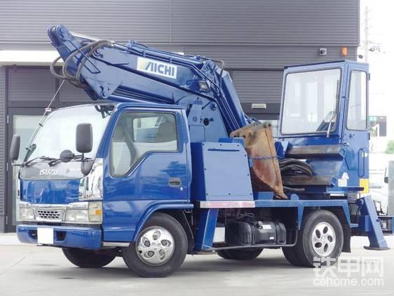 【票友说车7】挖掘机和卡车擦出的火花:爱知车载挖掘机-帖子图片