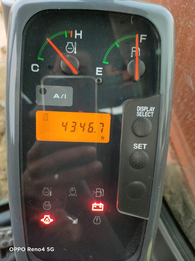 【我的年终总结】日立ZX60-5A今年1500小时报告