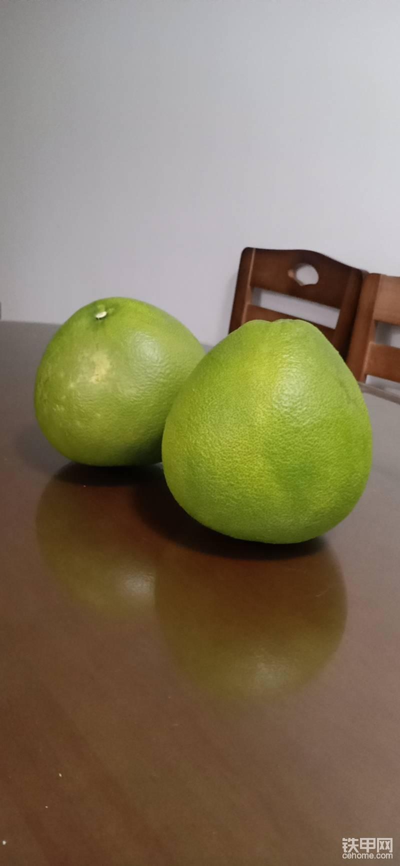 这是我们广丰的土特产——马加柚