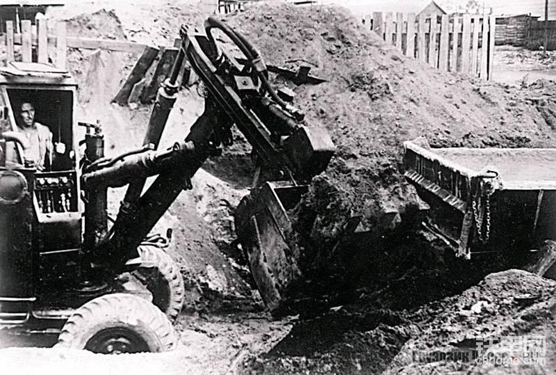 前苏联的正铲轮挖,苏联E-151