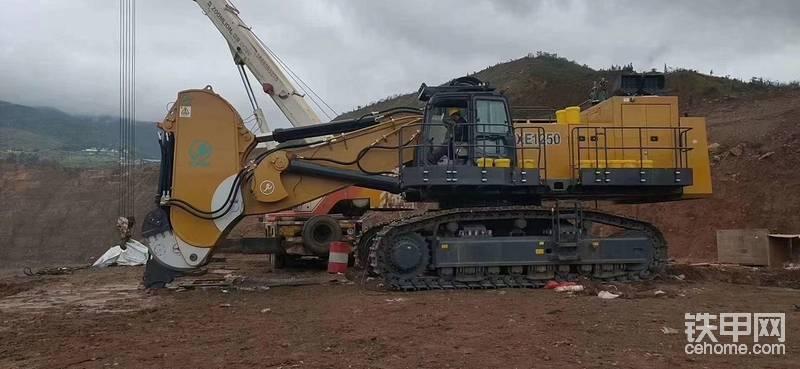 【飛哥說車18】徐工1250礦用挖掘機-帖子圖片