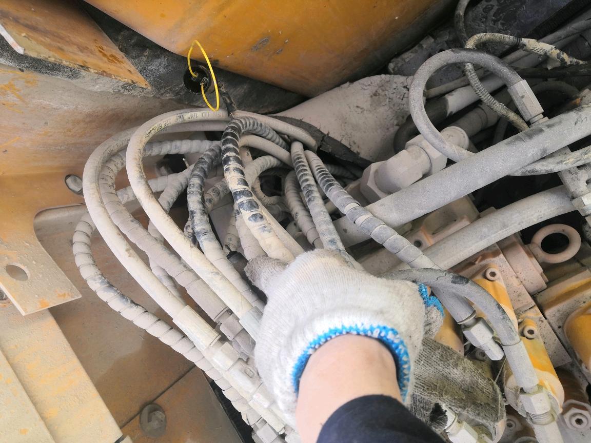 三一挖掘机油门旋钮档位1-5档无反应故障排查