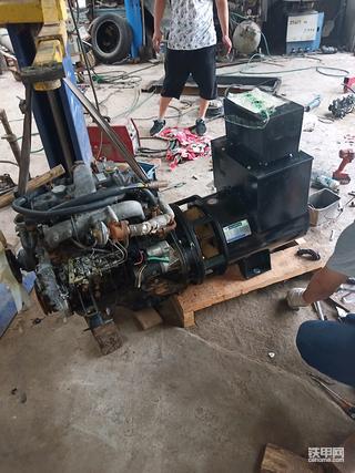 自己动手,改五十铃发动机头,五十铃发电机组