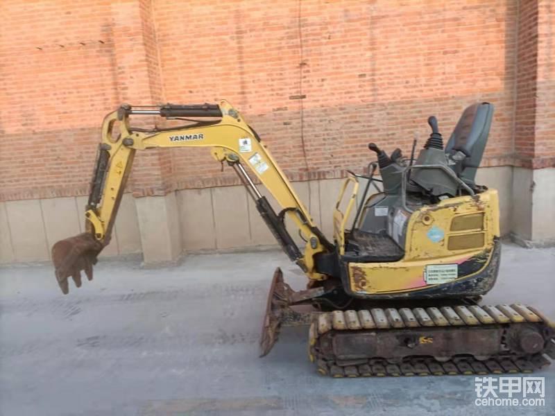山东济南出售二手洋马17挖掘机一台-帖子图片