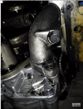 336D机油压力低