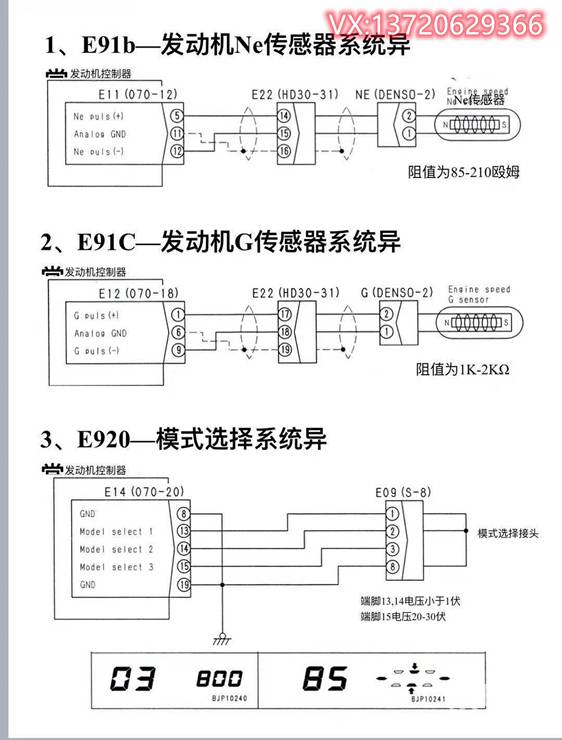 小松125/140發動機故障代碼分析-帖子圖片