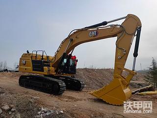 卡特349挖掘机,漂亮不