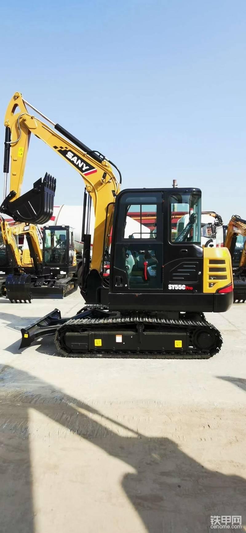 【买车记】喜提新款三一SY55C pro挖掘机-帖子图片