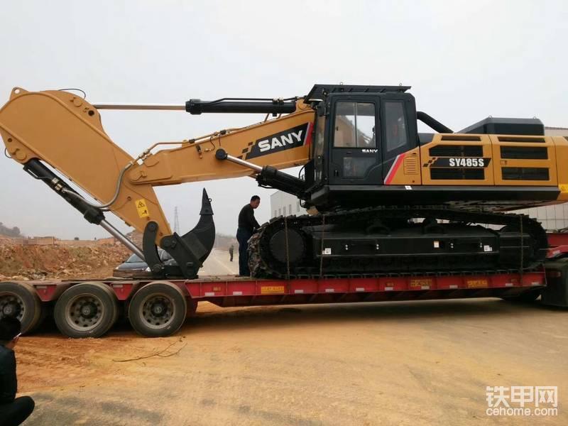 三一SY485S挖掘機3000小時使用報告-帖子圖片