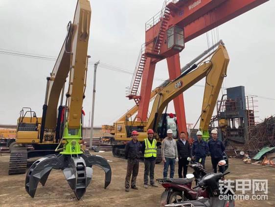 山西晋城,某钢厂引进钢爪,抓钢机应用