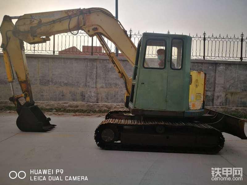 山東濟南出售二手洋馬B7挖掘機一臺-帖子圖片