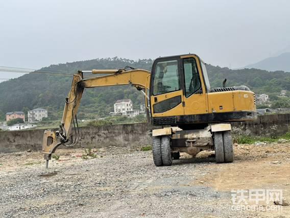 談談新源輪式挖掘機-帖子圖片