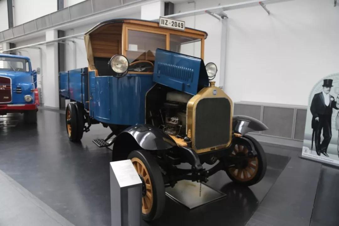 直喷柴油机卡车的鼻祖——MAN 1924