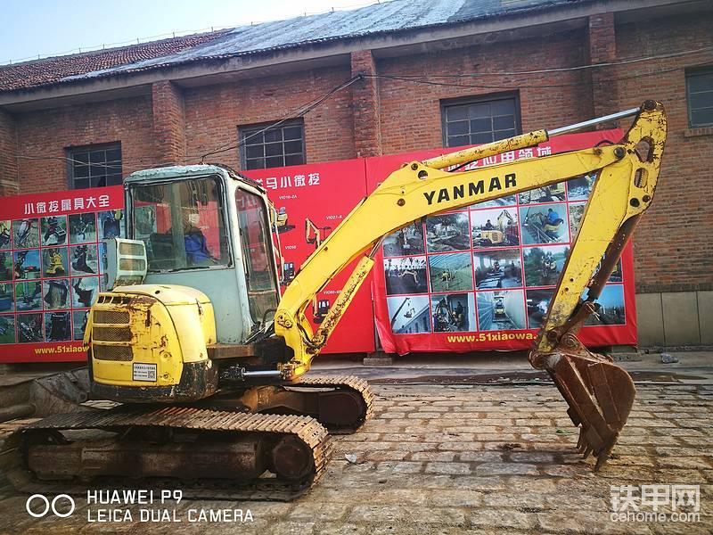 山東濟南出售二手洋馬55挖掘機一臺-帖子圖片