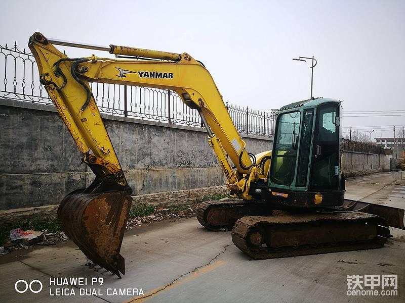 山東濟南出售二手洋馬75挖掘機一臺-帖子圖片