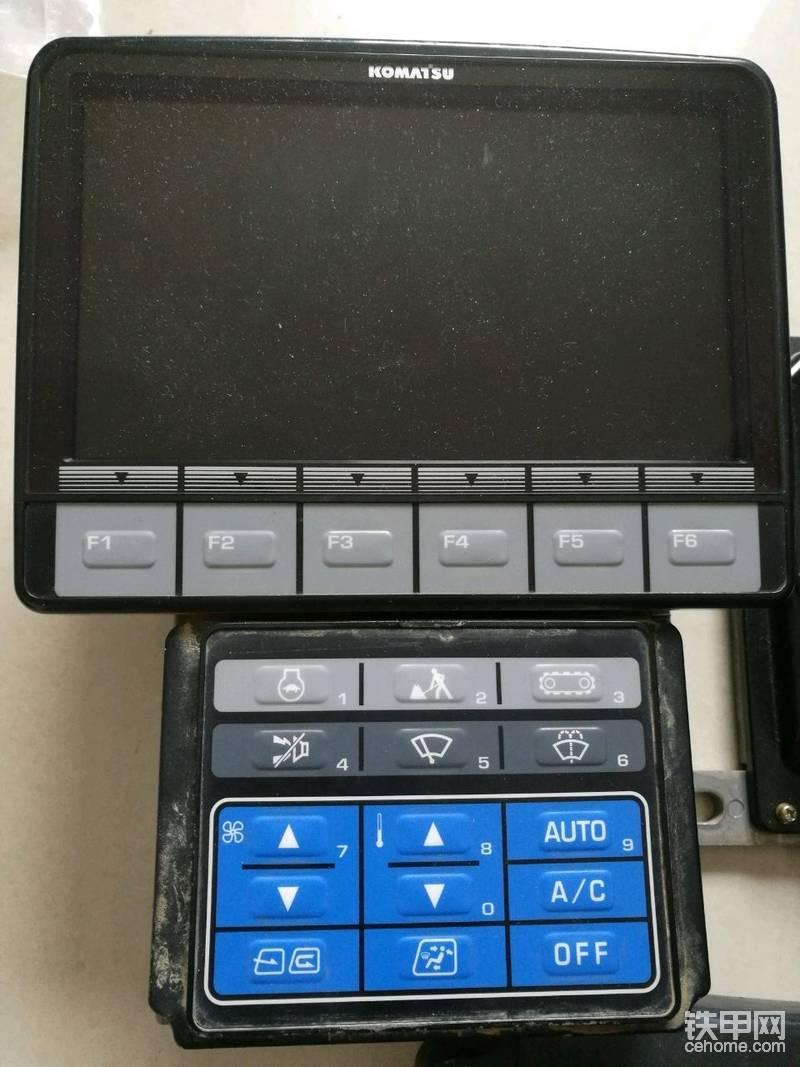 小松-8顯示器之圖標解釋-帖子圖片