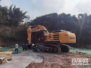 【新机实测】追踪SY650H挖机好不好,江湖战绩,油耗很