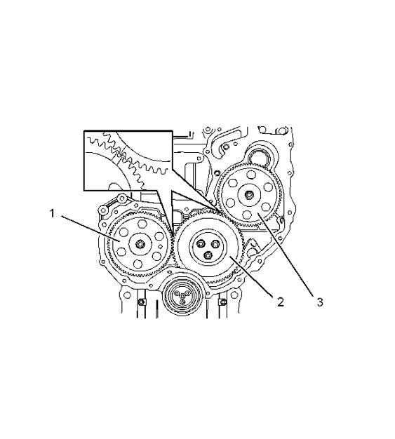 卡特彼勒6.6发动机正时齿的安装步骤