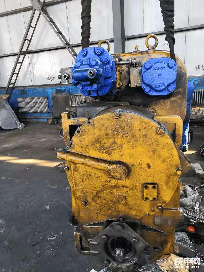 装载机双变齿轮式变速箱启动后无空挡-帖子图片