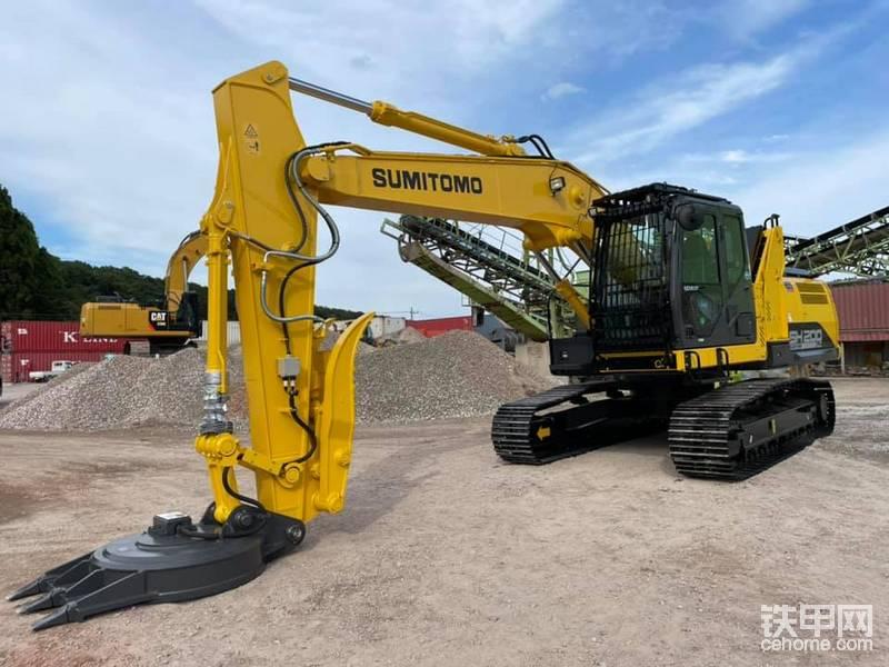 最新住友200LC-7磁吸挖掘机-帖子图片