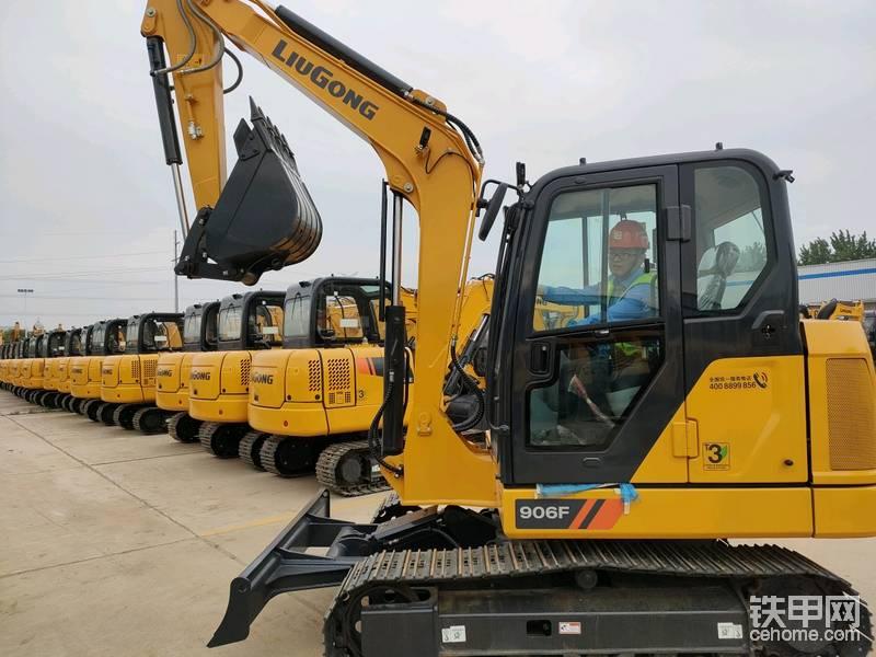 柳工528全球客戶節試乘試駕柳工906F挖掘機-帖子圖片