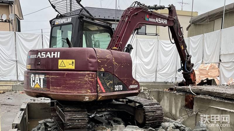 卡特307D挖機-帖子圖片