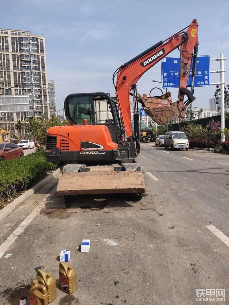 小橙到家!斗山DX60W-9C提車作業-帖子圖片