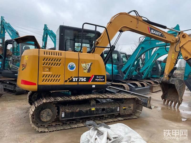 三一75-10二手挖掘機 挖掘機 三一二手挖掘機 小挖機-帖子圖片
