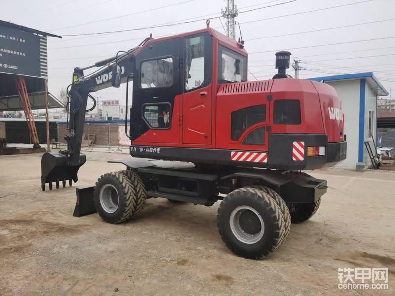 【小宁说车5】试驾国产品牌沃德W295W轮式挖掘机-帖子图片