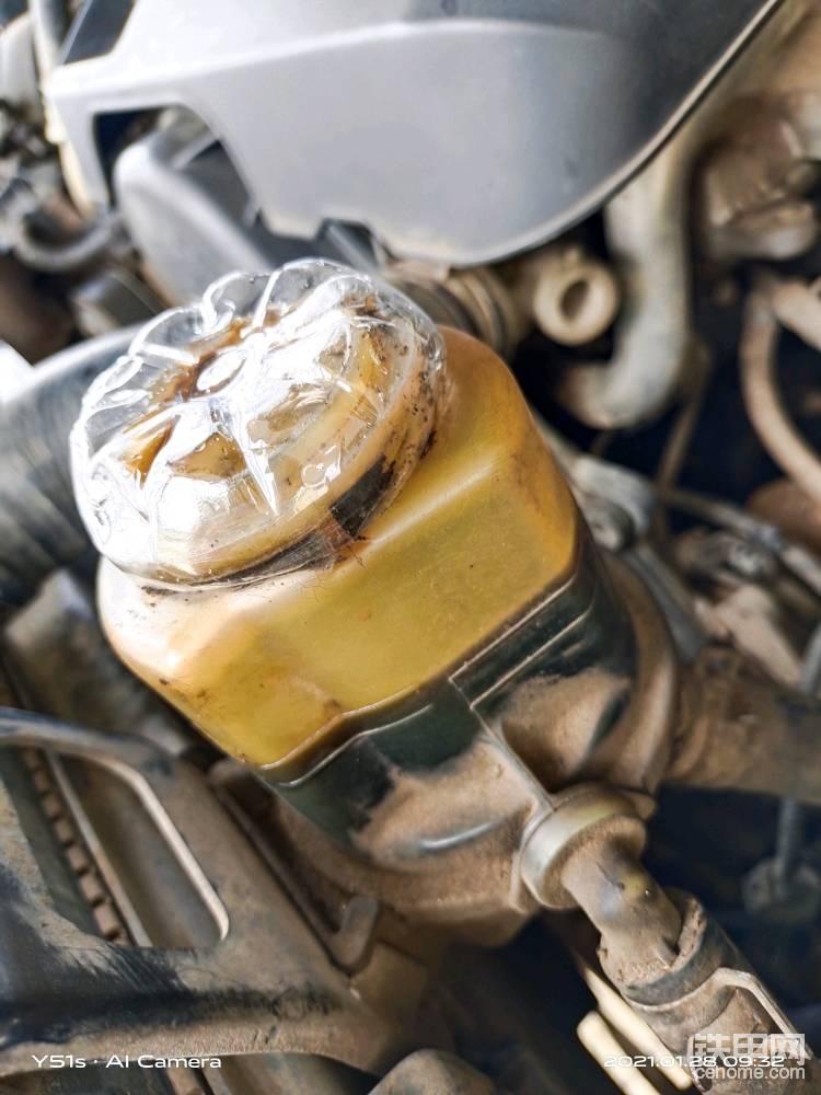 自制方向机传动油盖子