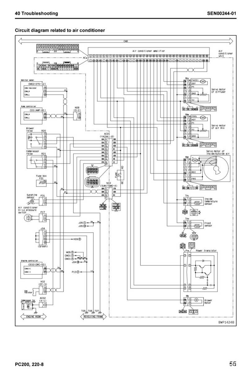 小松PC200-8電路圖-帖子圖片