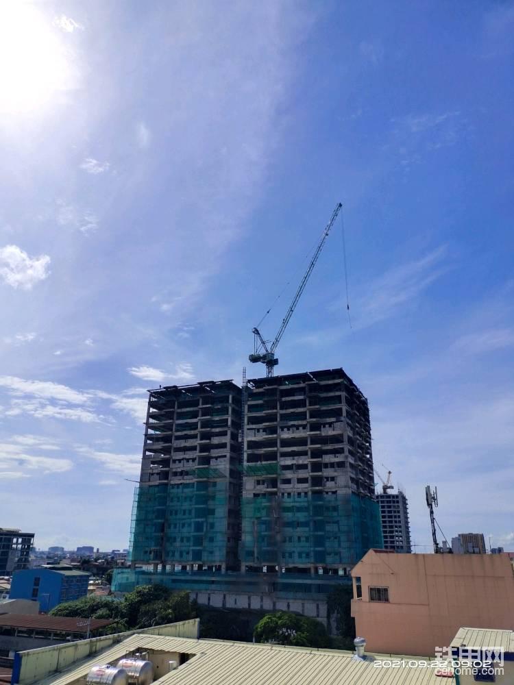 中聯重科塔吊助力馬尼拉城市建設-帖子圖片
