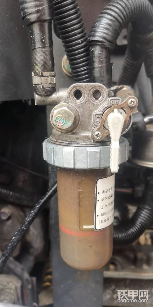 二手挖機經常熄火原來是加的柴油不干凈-帖子圖片
