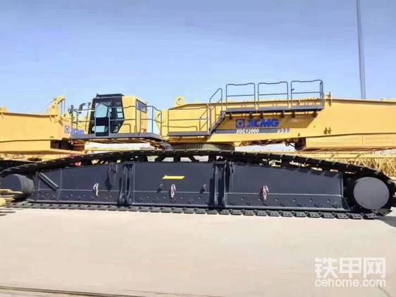 出租一臺全新800噸履帶式吊車 價格可以-帖子圖片