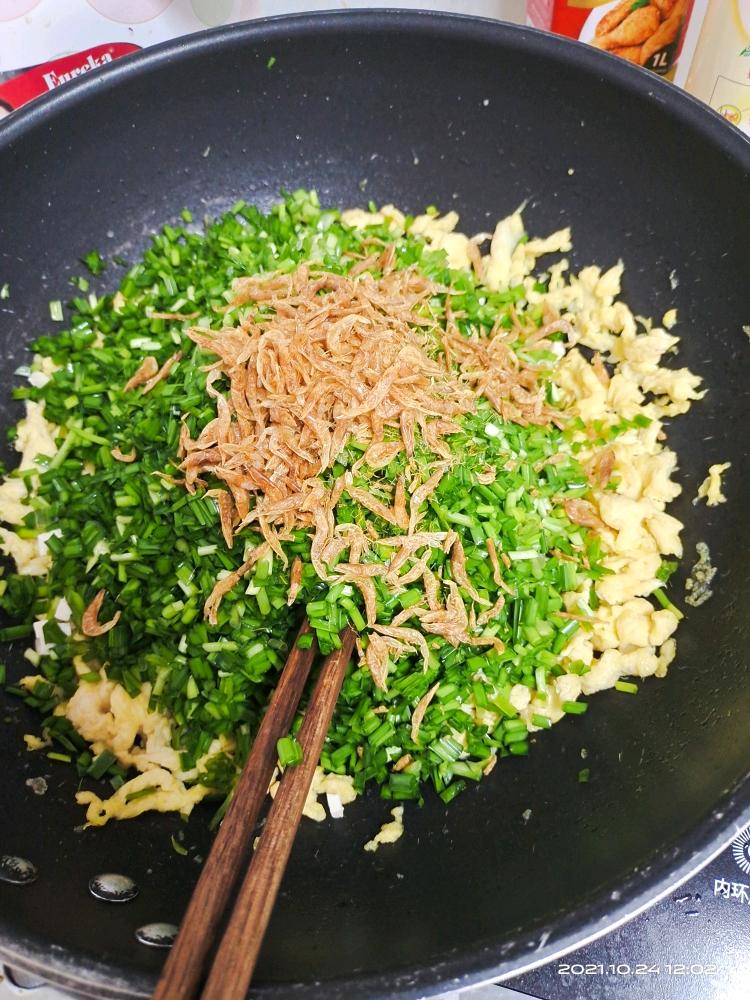韭菜鸡蛋饺子[表情]