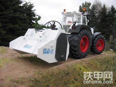 拖拉机配套设备及工程机械模型