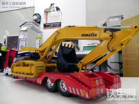 komatsu pc-400 和  iveco 拖板車  靓唷