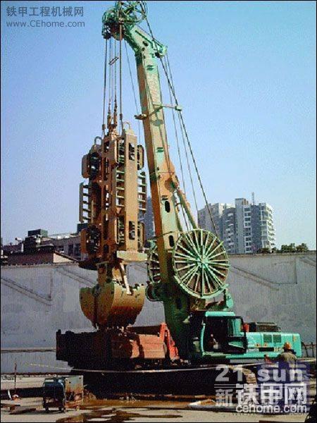 桩工机械:连续墙液压抓斗-帖子图片