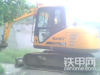 三一SY75挖掘機 500小時使用小結-帖子圖片