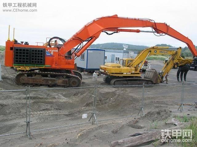 日立矿山型挖掘机 一个比一个彪悍