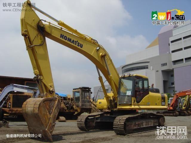 本人近期想去深圳買臺二手小松350-7的直噴機-帖子圖片