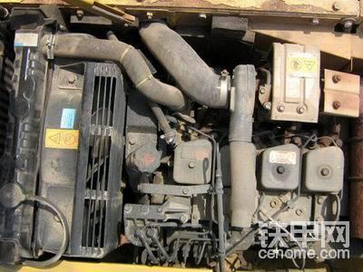 小松挖掘机120-6水温报警,求-帖子图片