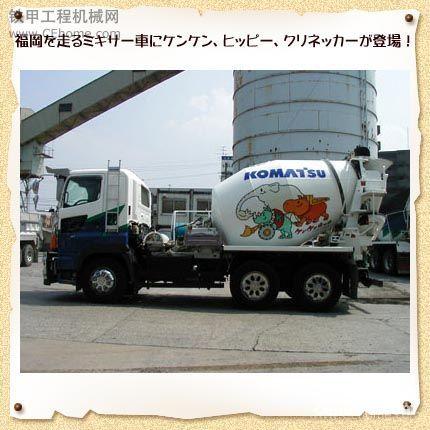 每日一圖 小松的福岡水泥攪拌車-帖子圖片