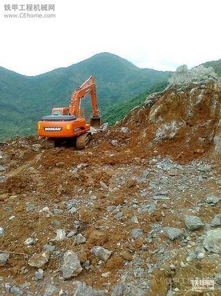 斗山DH215LC-9man机  做矿山