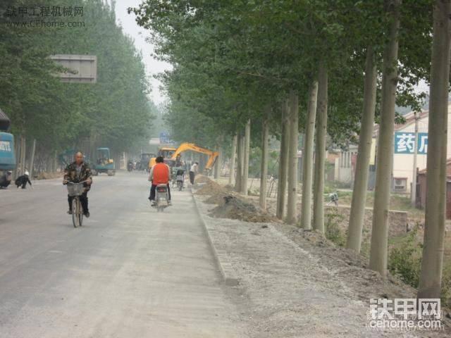 杨玉公路大修工程施工现场一部-帖子图片