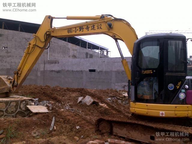 PC75-3挖掘机3000小时使用报告