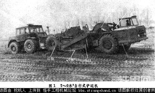铲运机 scraper-帖子图片